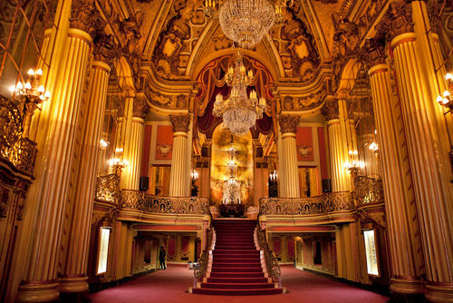 Los Angeles Theatre Lobby