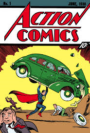 action comics nuymber one