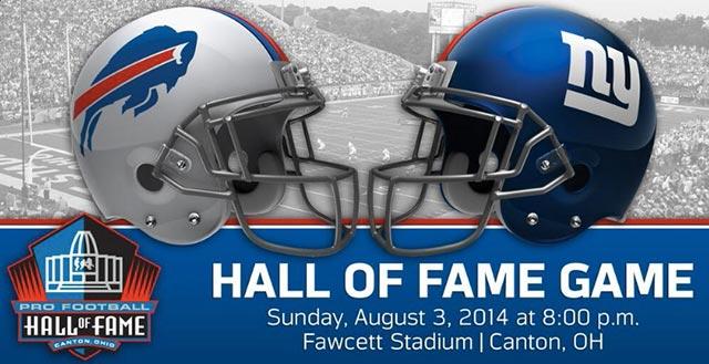 hall of fame game 2014-logo