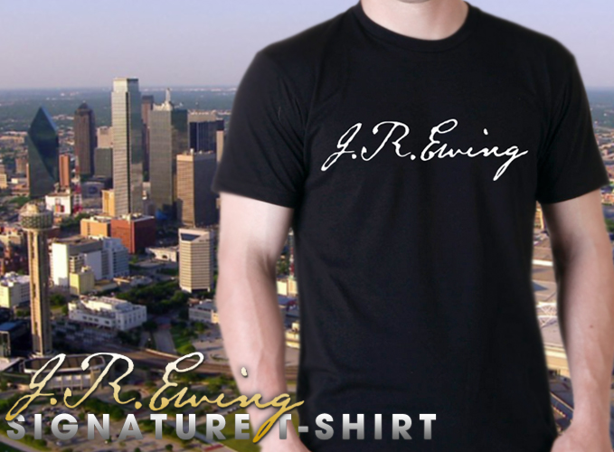 jr ewing t-shirt