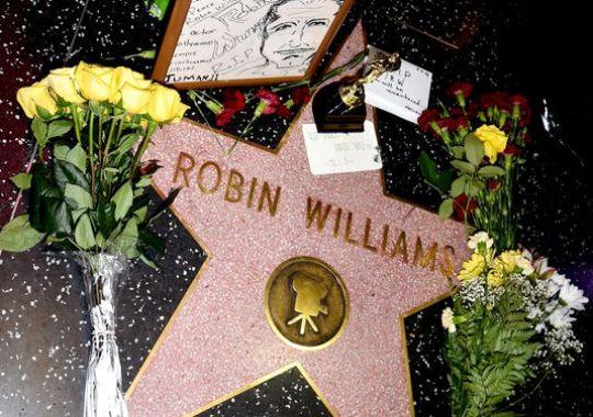 robin williams-walk of fame tribute