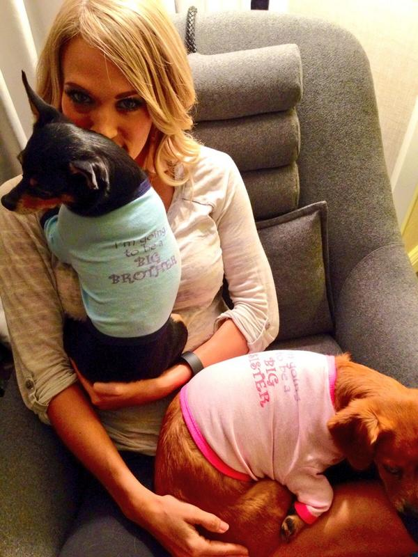 Carrie underwood twitter picture poregnancy