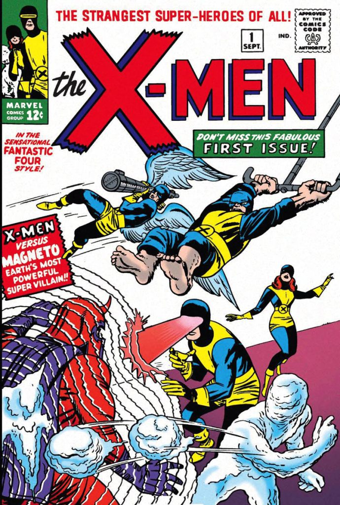 X-Men comic book cover