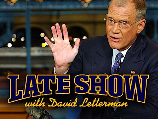 late show with david letterman-title