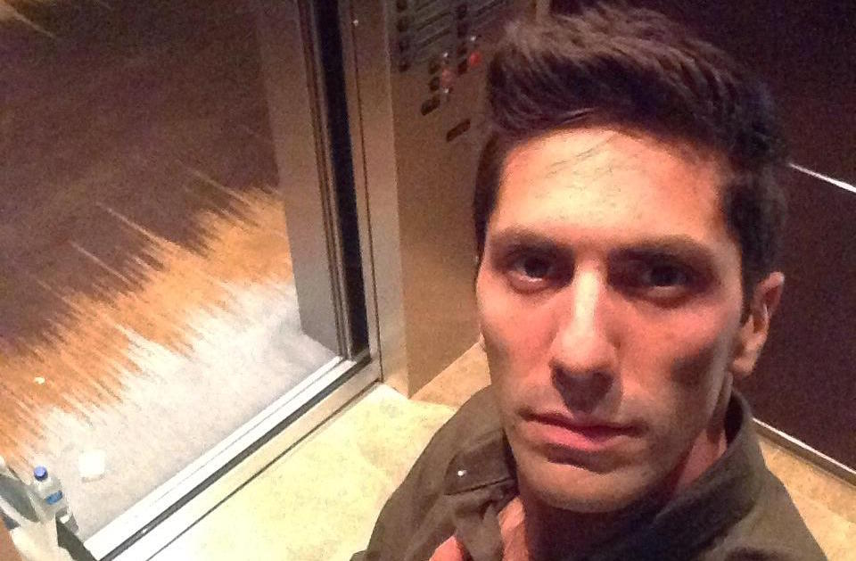 nev schulman elevator selfie