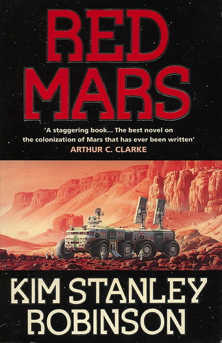 red mars-book cover