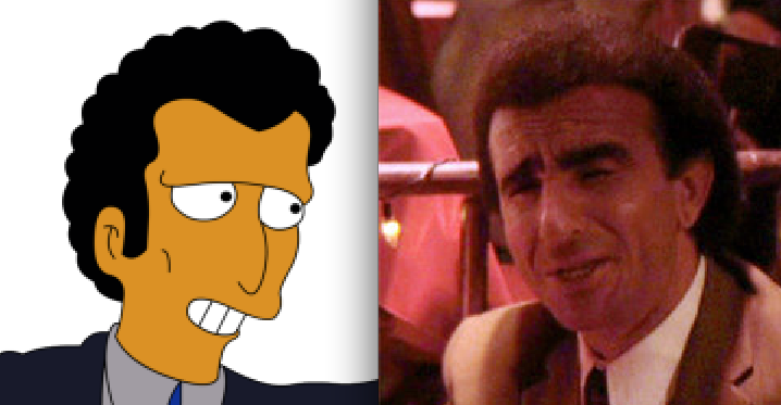 Louie on Simpsons-Frankie Carbone in Goodfellas