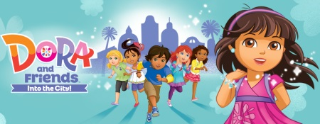 dora and friends into the city-title