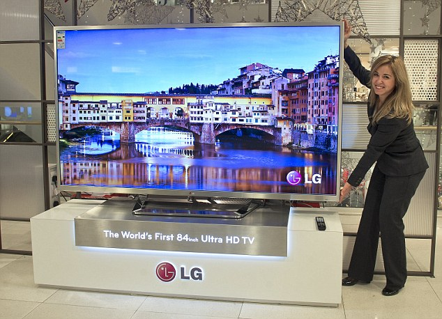 LG 84-inch Ultra HD TV