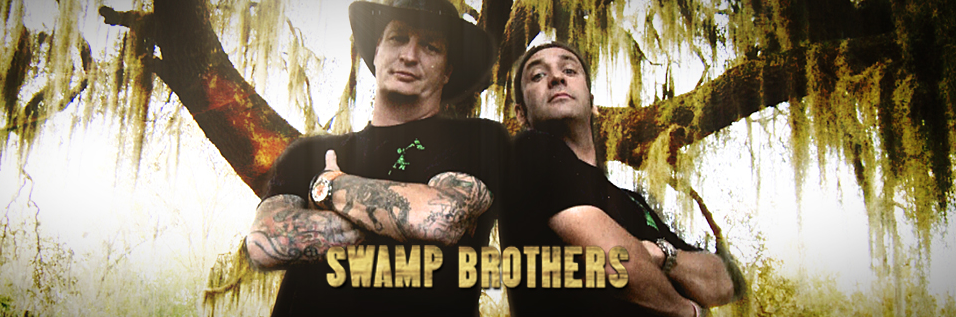 Swamp Brothers-Robbie Keszey (L) and Stephen Keszey