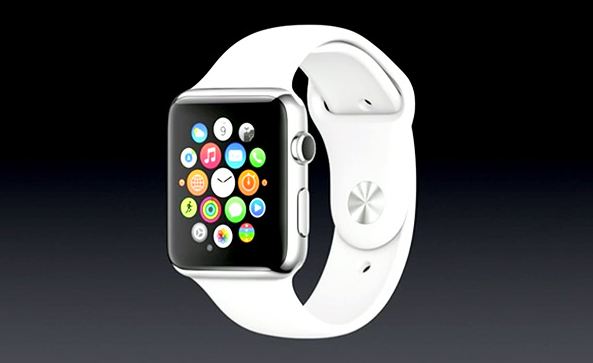 apple watch on black