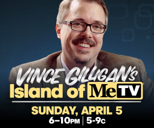 vince gilligan's island of metv-title