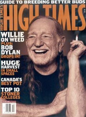 willie nelson-high times cover