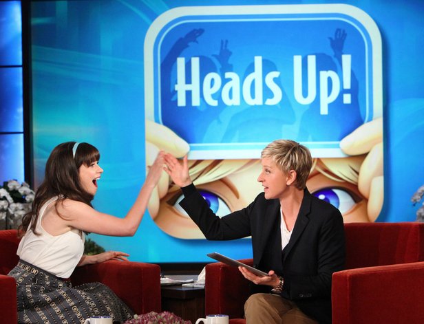 heads up!-Ellen DeGeneres Show