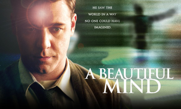 a beautiful mind-movie poster
