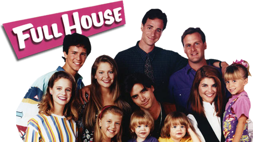full house-cast-title