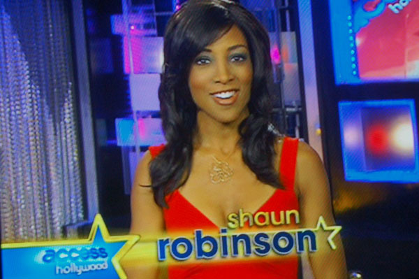 access hollywood-shaun robinson