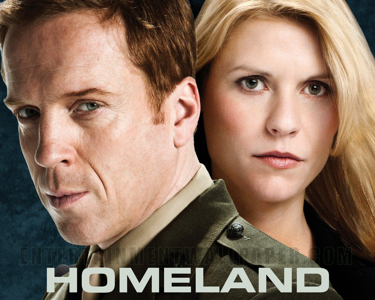 homeland-damian lewis-clair danes