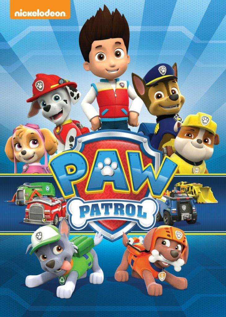 paw patrol-poster