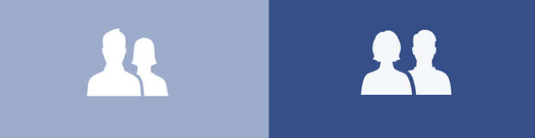 facebook friends icon-old-left-and new