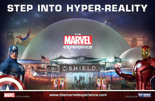 marvel experience-2015 tour