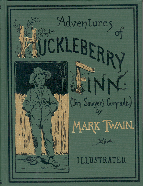 huckleberry finn-mark twain-book cover