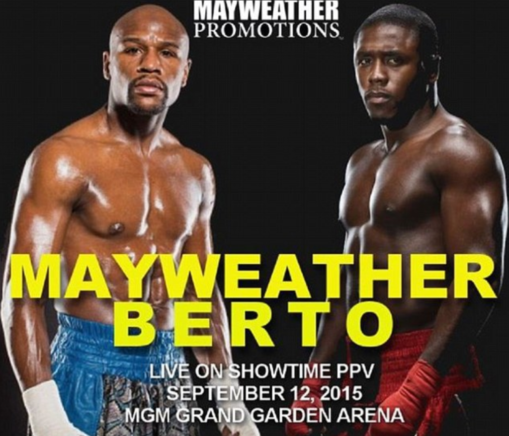 mayweather berto-showtime ppv