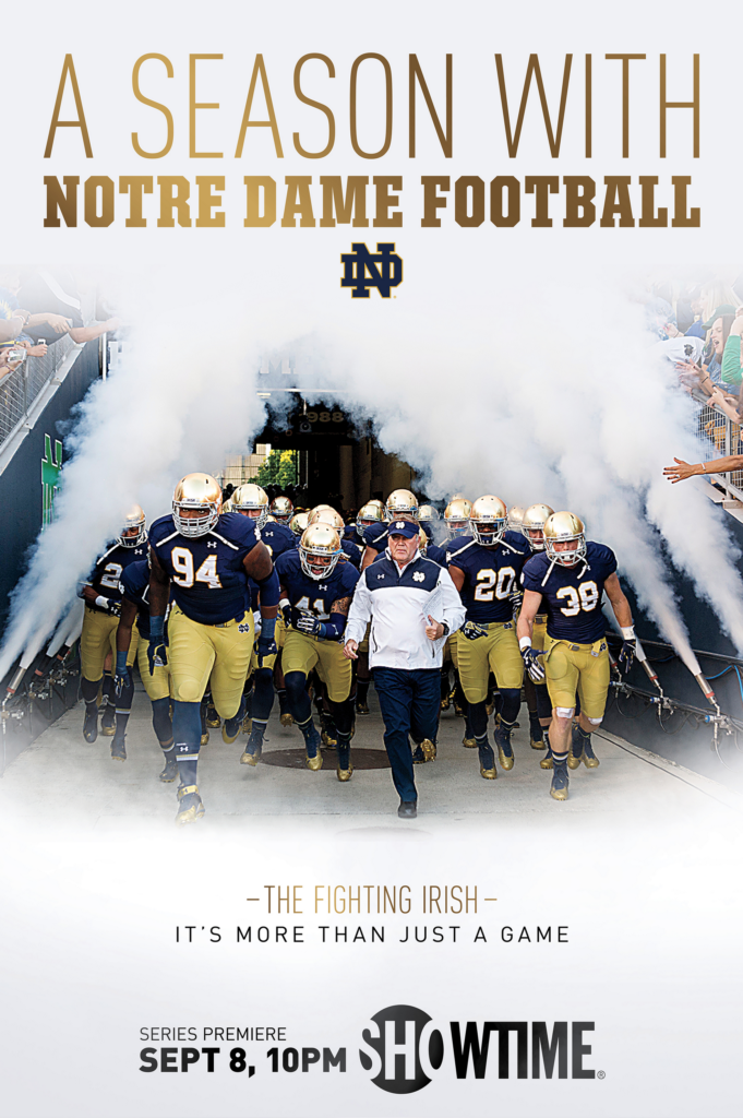 season with notre dame football