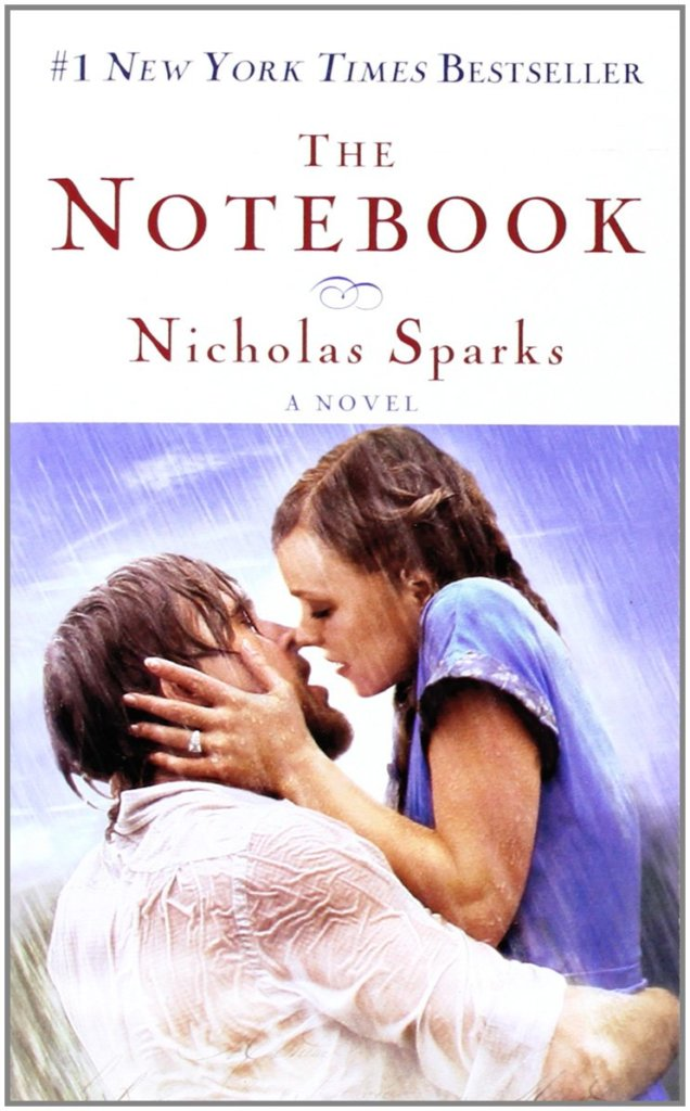 the notebook-book cover