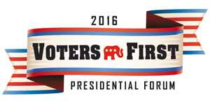 voters first forum
