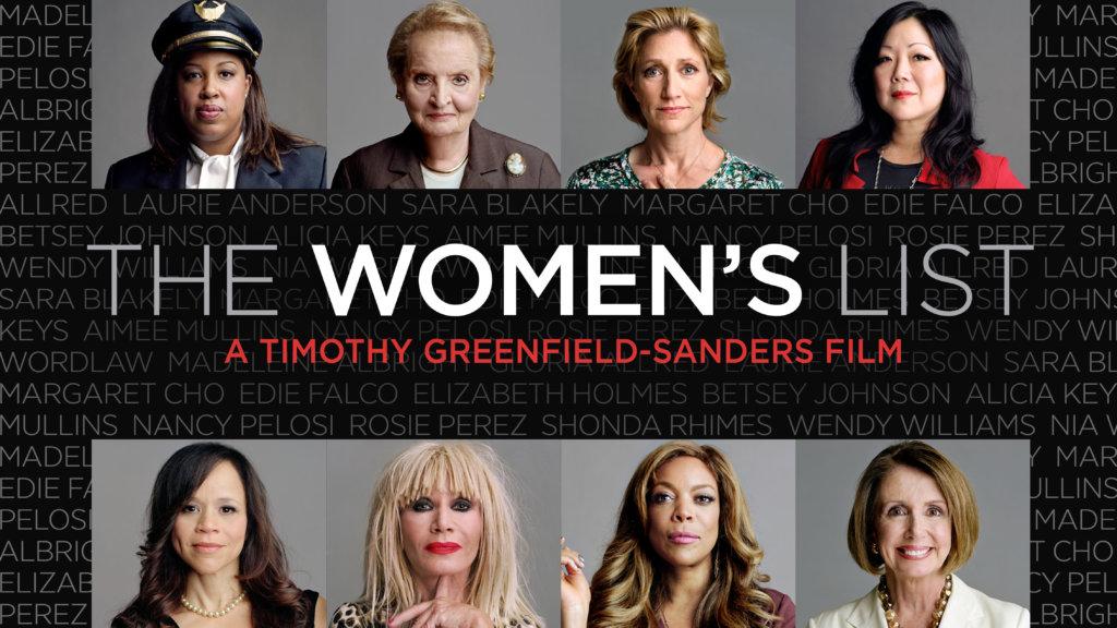 the women's list