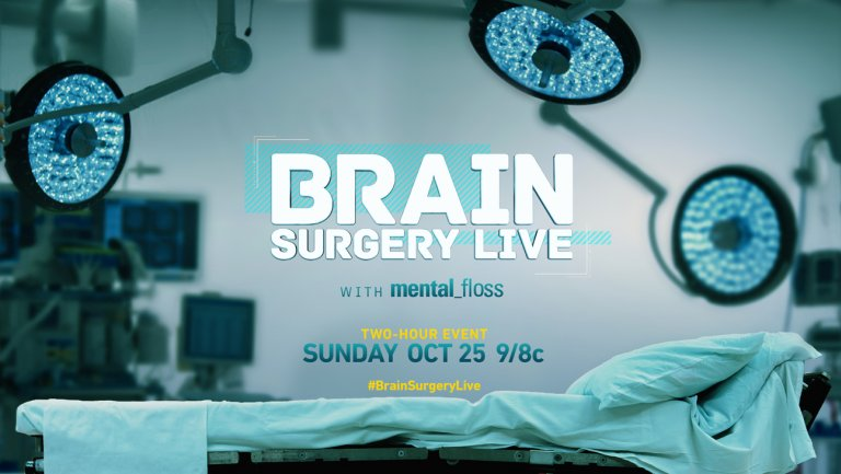 brain surgery live with mental floss-nat geo