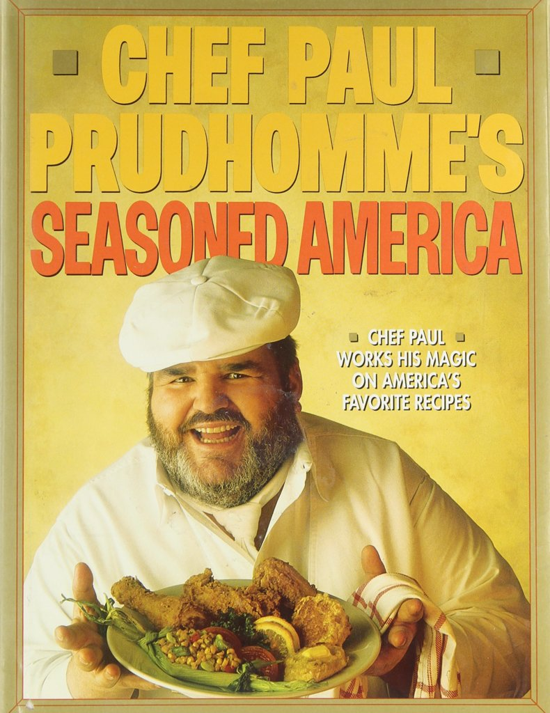 chef paul prudhomme's seasond america-book cover