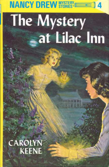 nancy drew mystery stories-book cover