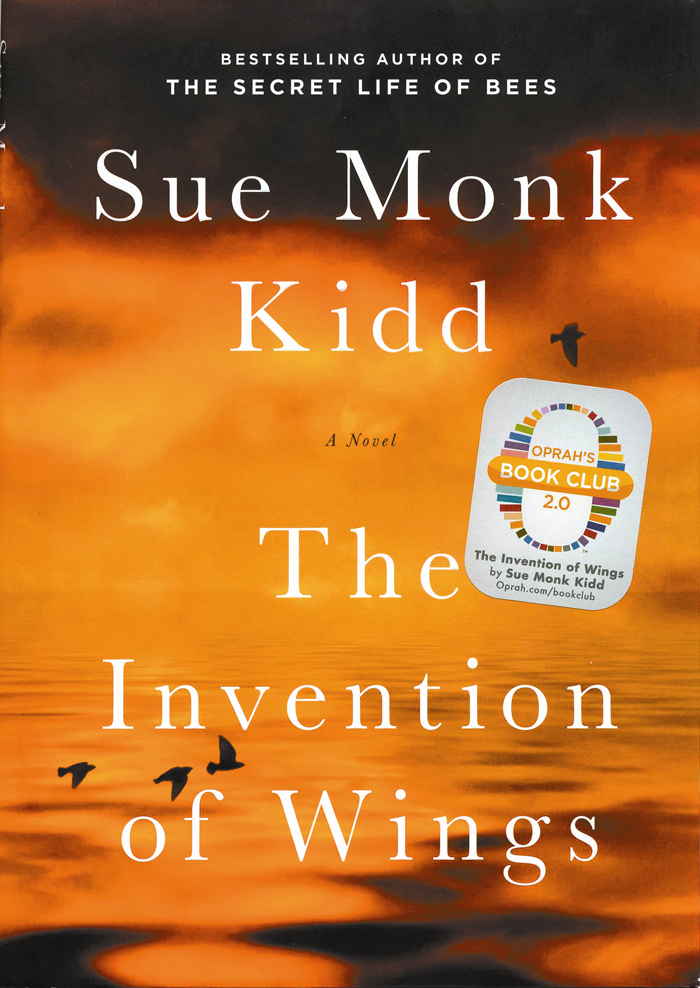 the invention of wings-book cover