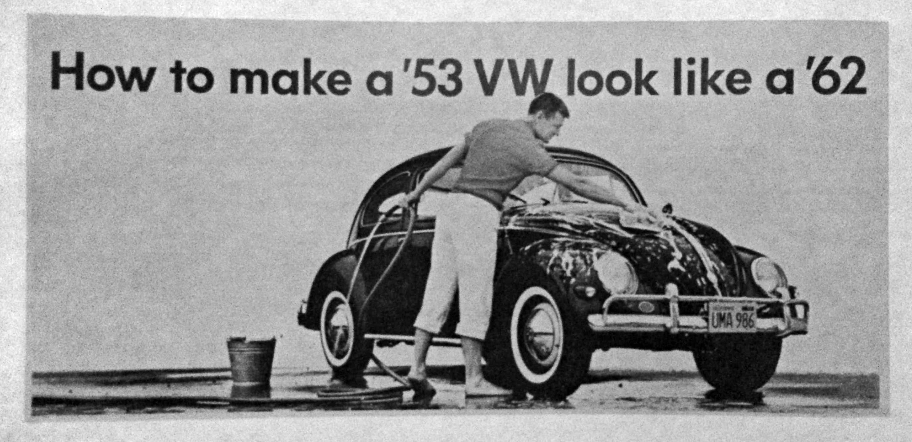 ... Los Angeles VW Dealership. The Art Director And Designer Of The Ad Was  Stan Jones. The Picture Was Taken By Bernard Gardner, And The Copywriter  Was ...