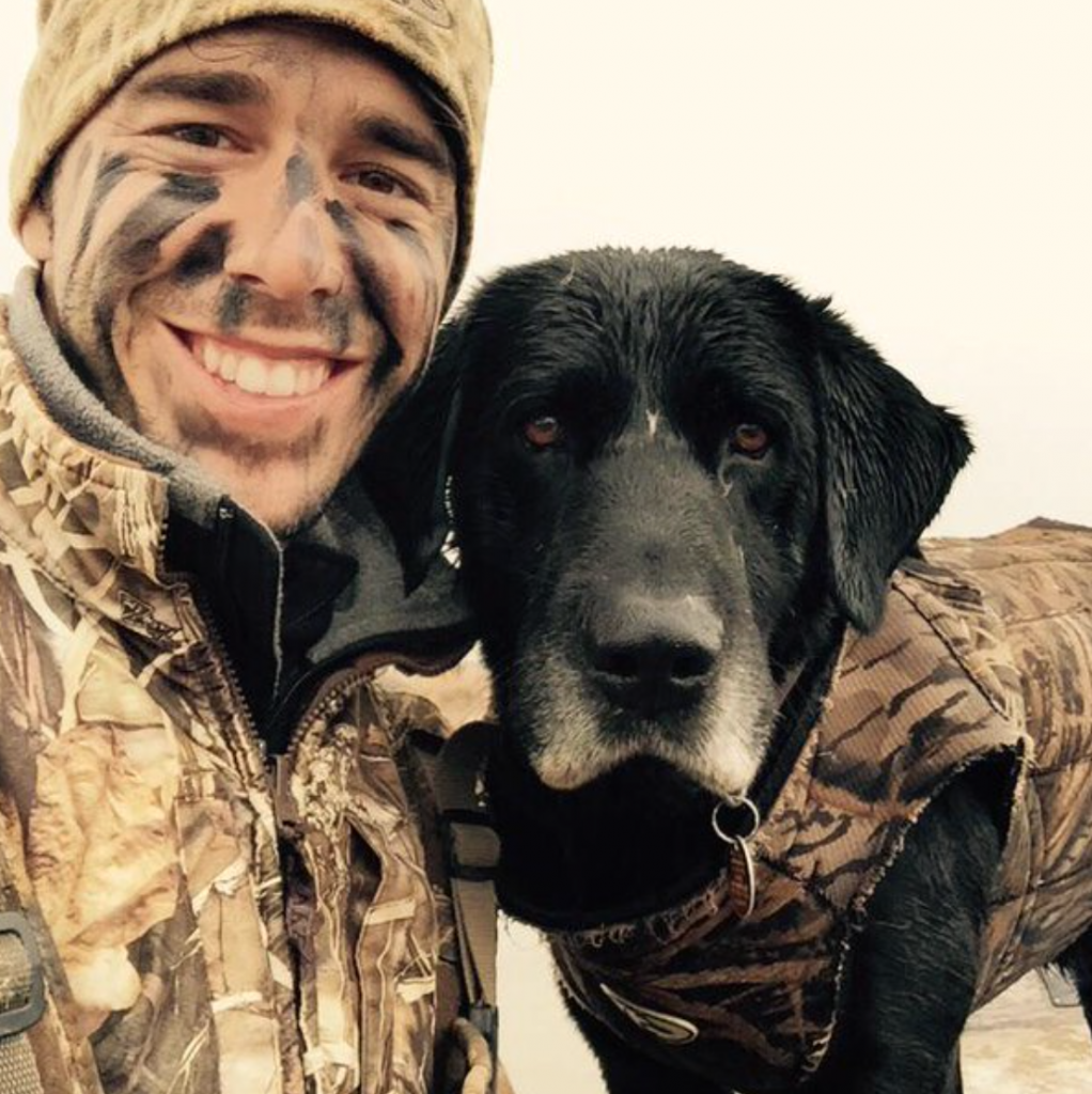 craig strickland with sam-social media