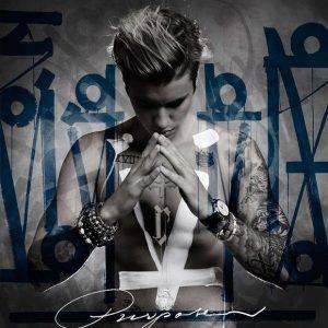justin bieber-purpose-album cover