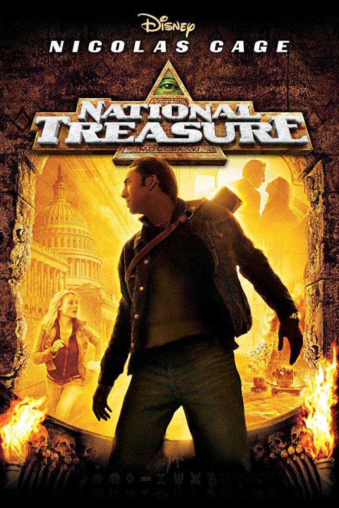 national treasure-nicolas cage-movie poster