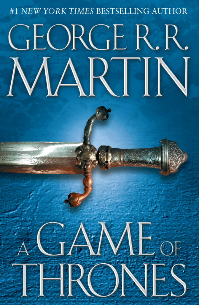 a game of thrones-george rr martin-book cover