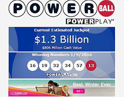 Omg Powerball Jackpot Rises To 1 3 Billion 806 Million