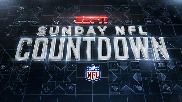 Sunday NFL Countdown-ESPN
