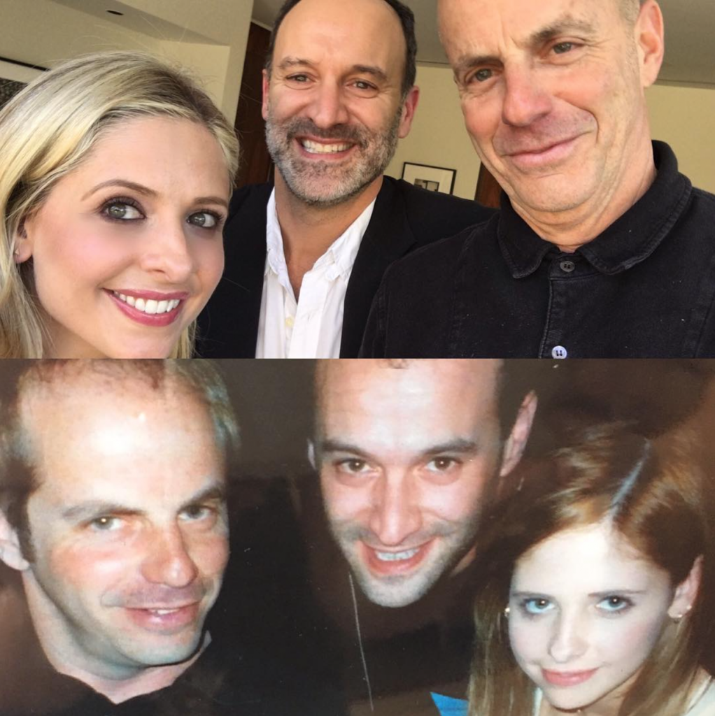 sarah michelle gellar-instagram-cruel intentions producers