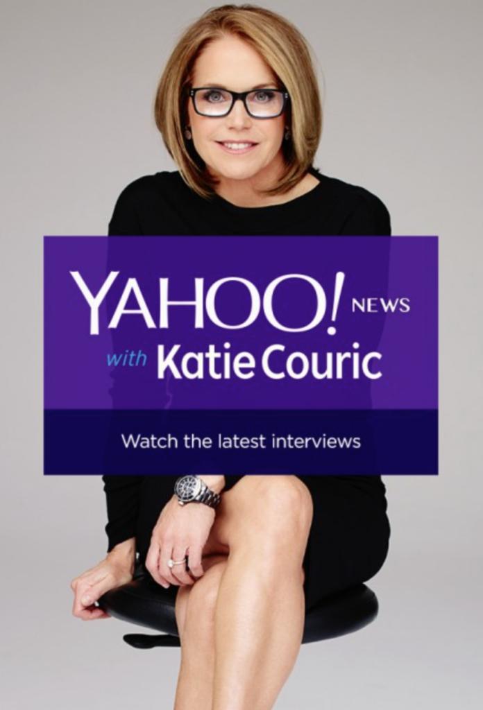 yahoo news-katie couric