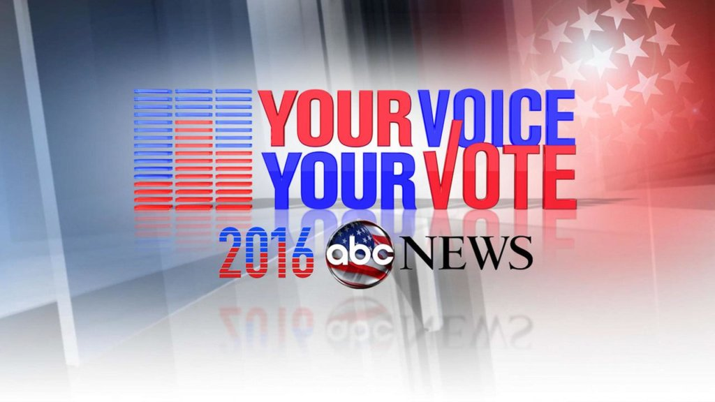 your voice your vote abc news 2016