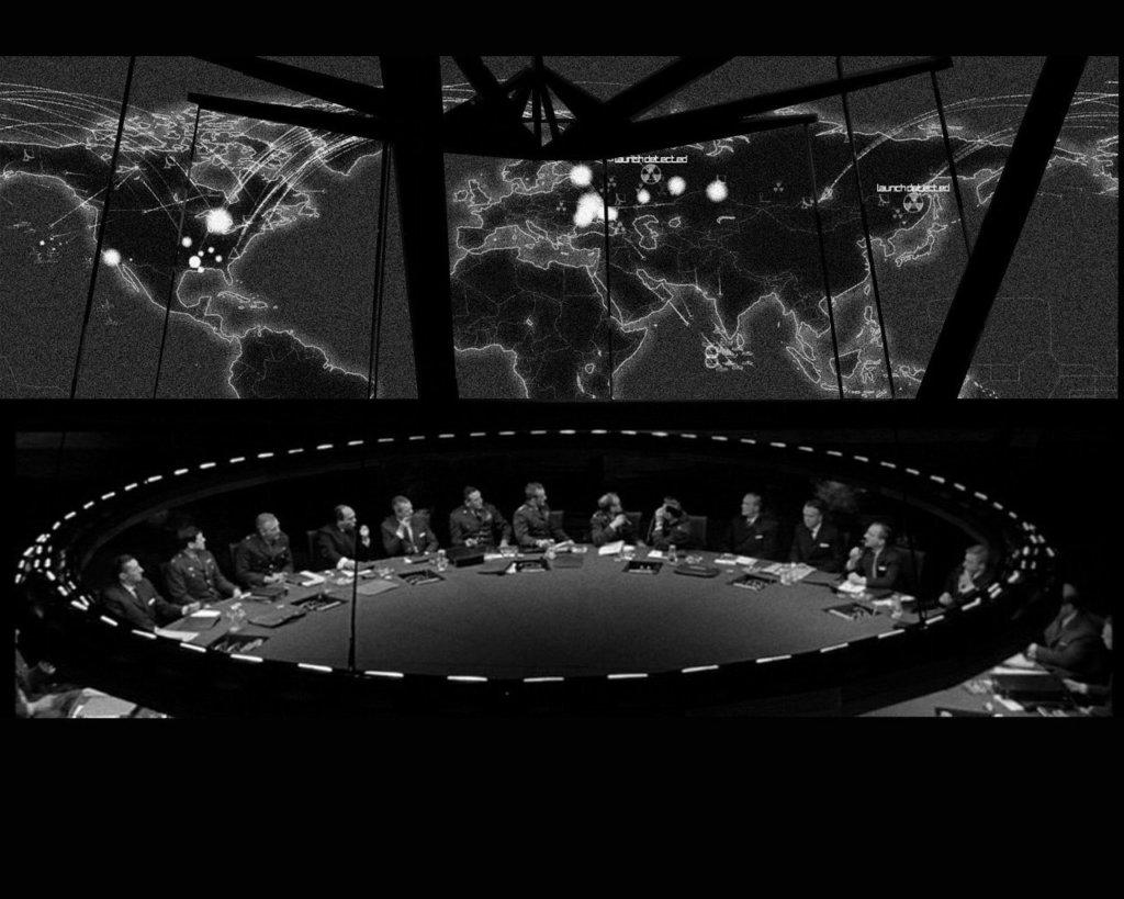 1964-Dr. Strangelove-War Room