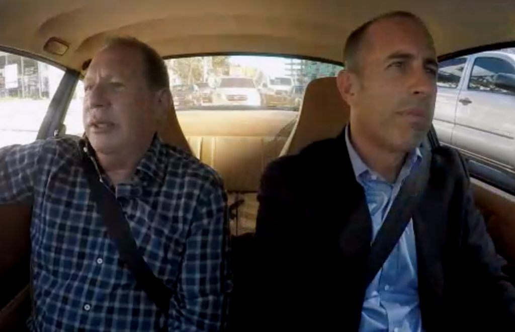 Garry Shandling-Jerry Seinfeld-Comedians in Cars Getting Coffee