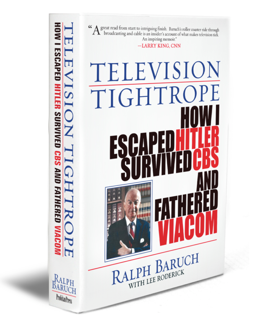 television tightrope-ralph baruch-book cover