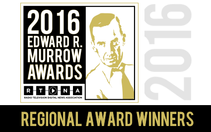 2016 Edward R. Murrow Regional Winners