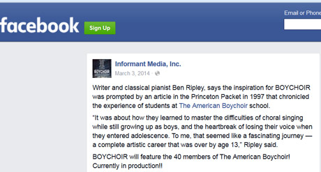 American Boychoir Movie